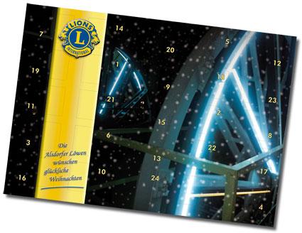 Lions Adventskalender 2012