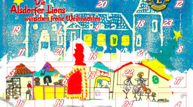 Lions-Adventskalender 2019: Gewinn-Nummern